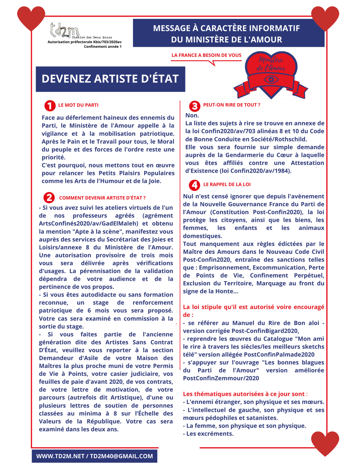 Pratique artistique - PostConfin2020 - An01
