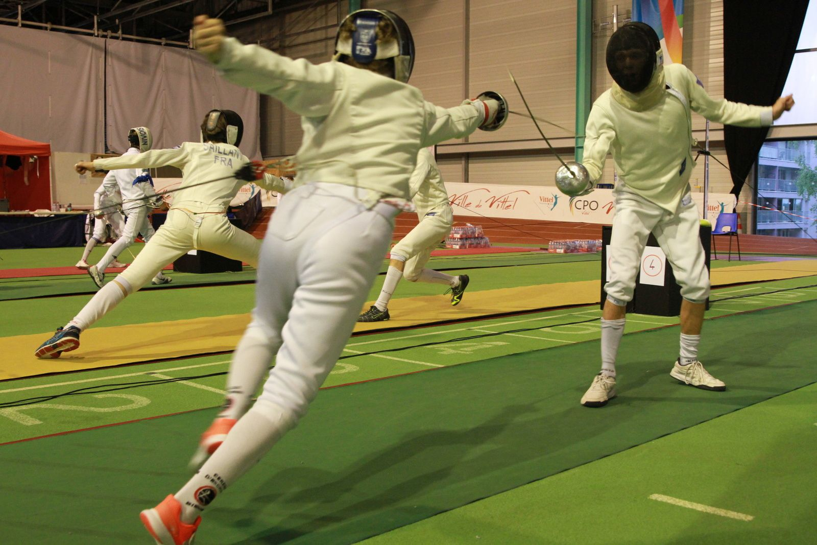 stage escrime France épée epee degen competition