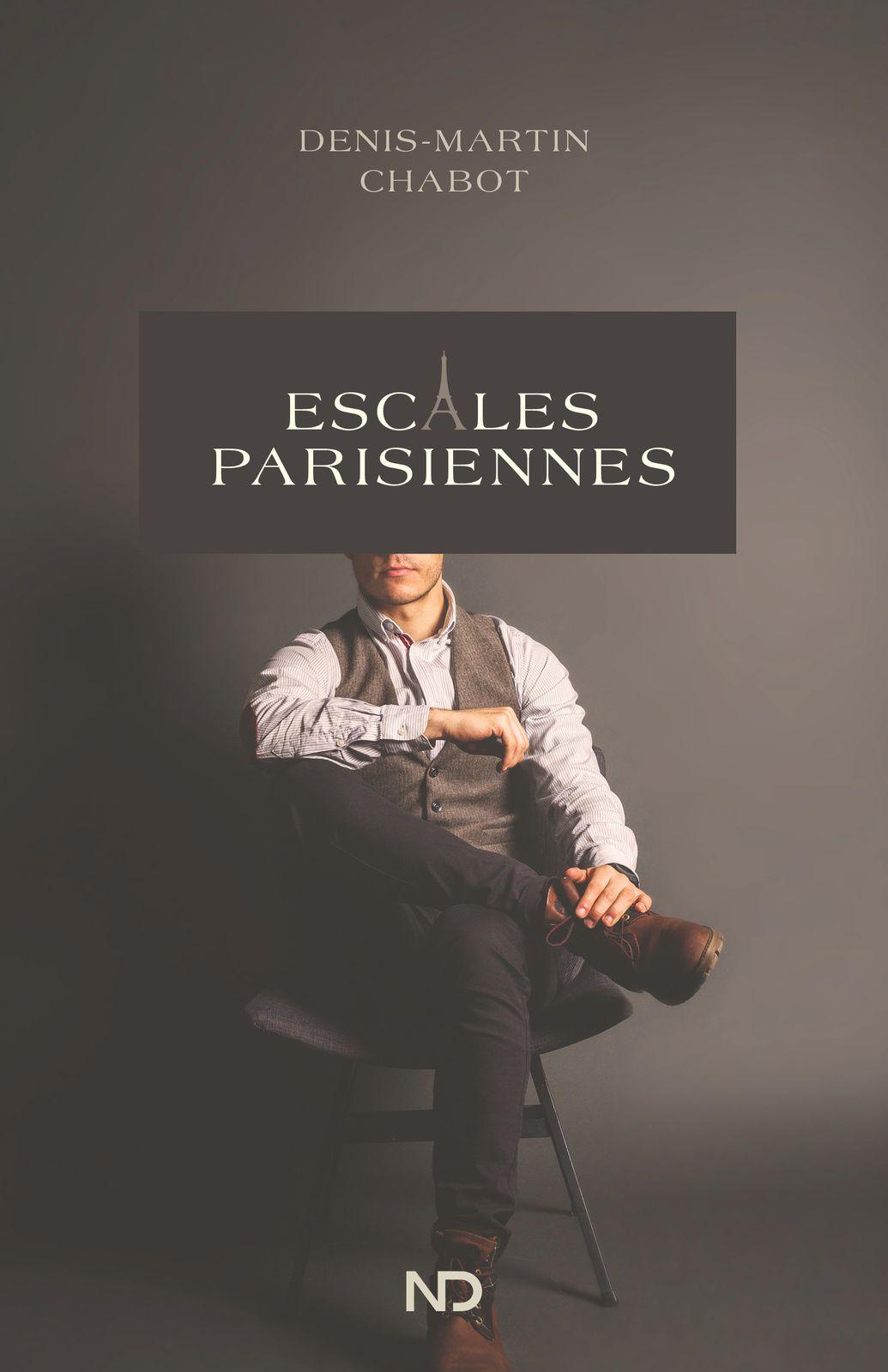 Denis-Martin Chabot de passage à Paris pour présenter son roman Escales Parisiennes