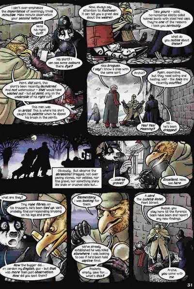 Adieu Blaireau!  /  Grandville Force Majeure  Vs.  Mary Reilly