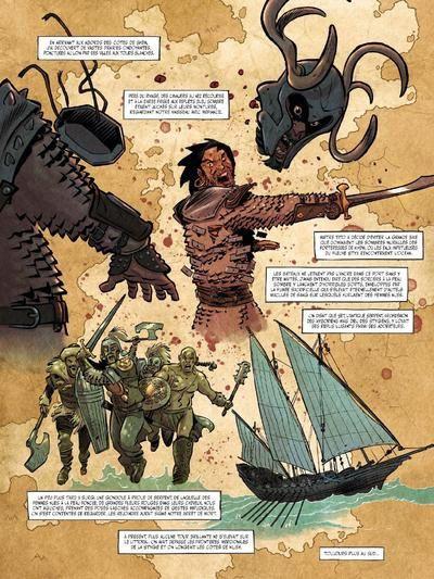 La Belle et le Barbare  /  Conan. La Reine de la Côte Noire  Vs.  King Kong