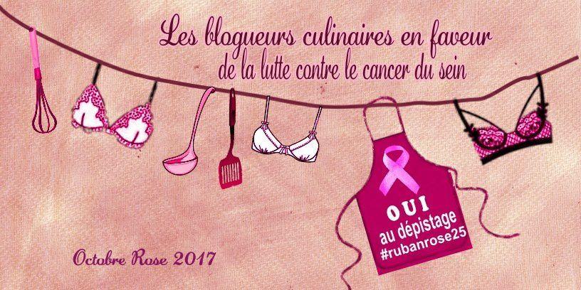 Gâteau choco/framboises pour la lutte contre le cancer du sein.