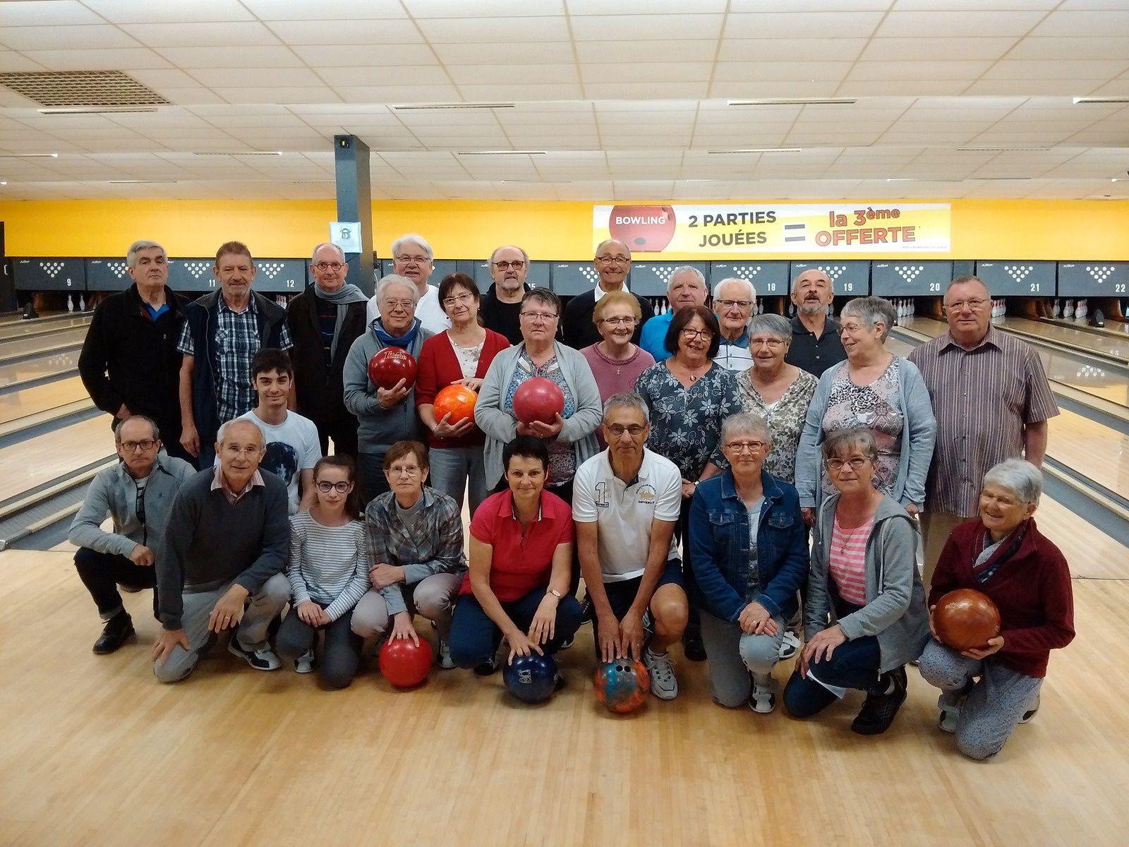 Résultat bowling du 26 04 2018