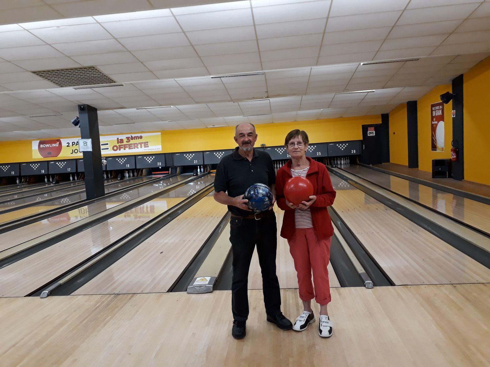 Résultat bowling du 11 05 2018