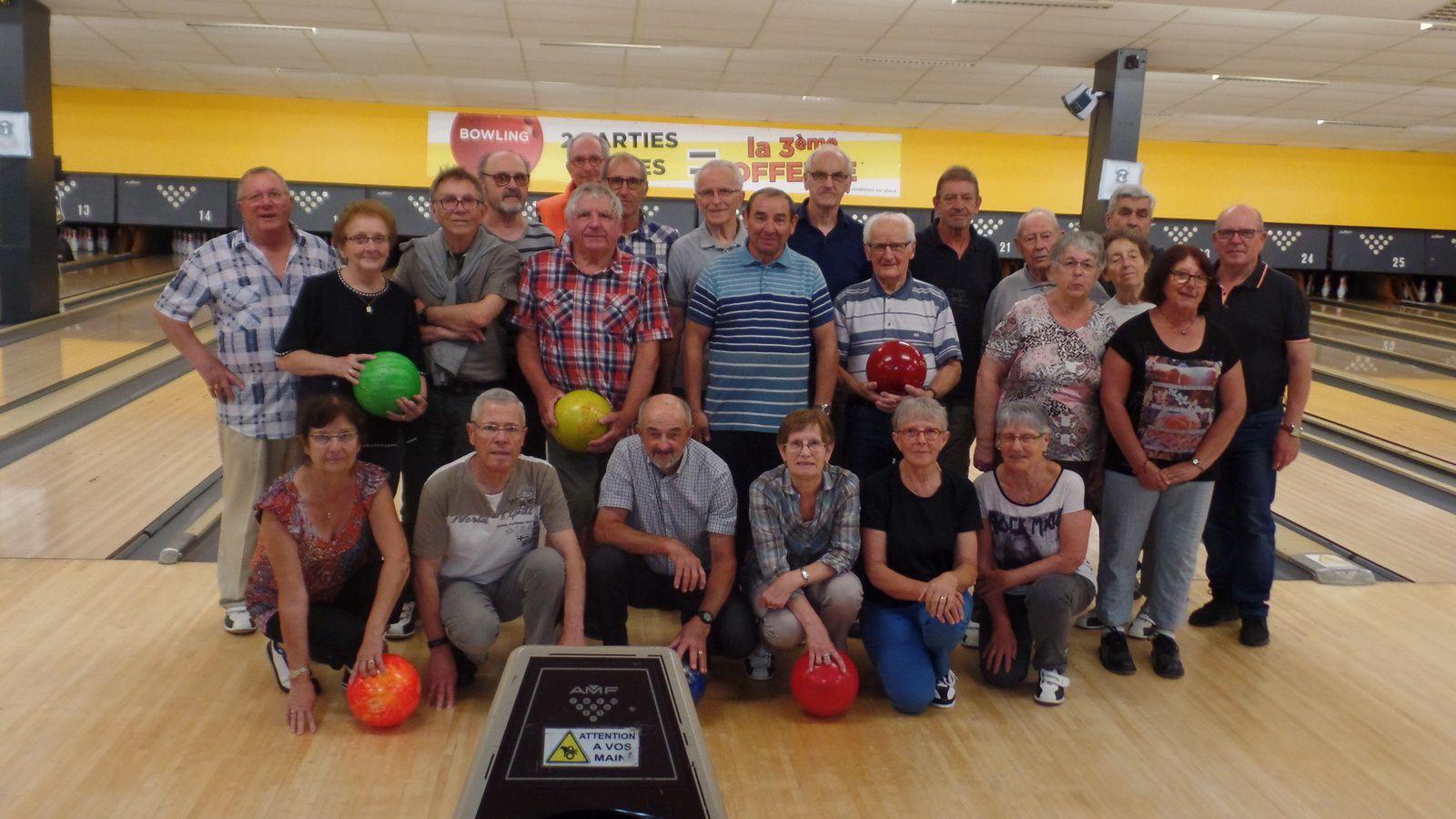 Résultat bowling du 07 06 2018