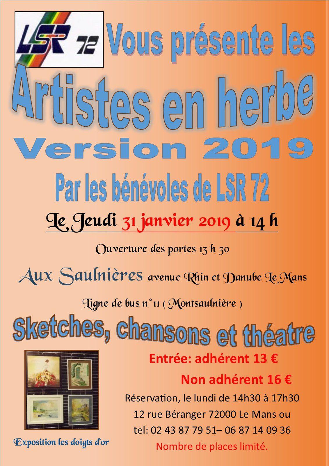 LES ARTISTES EN HERBE