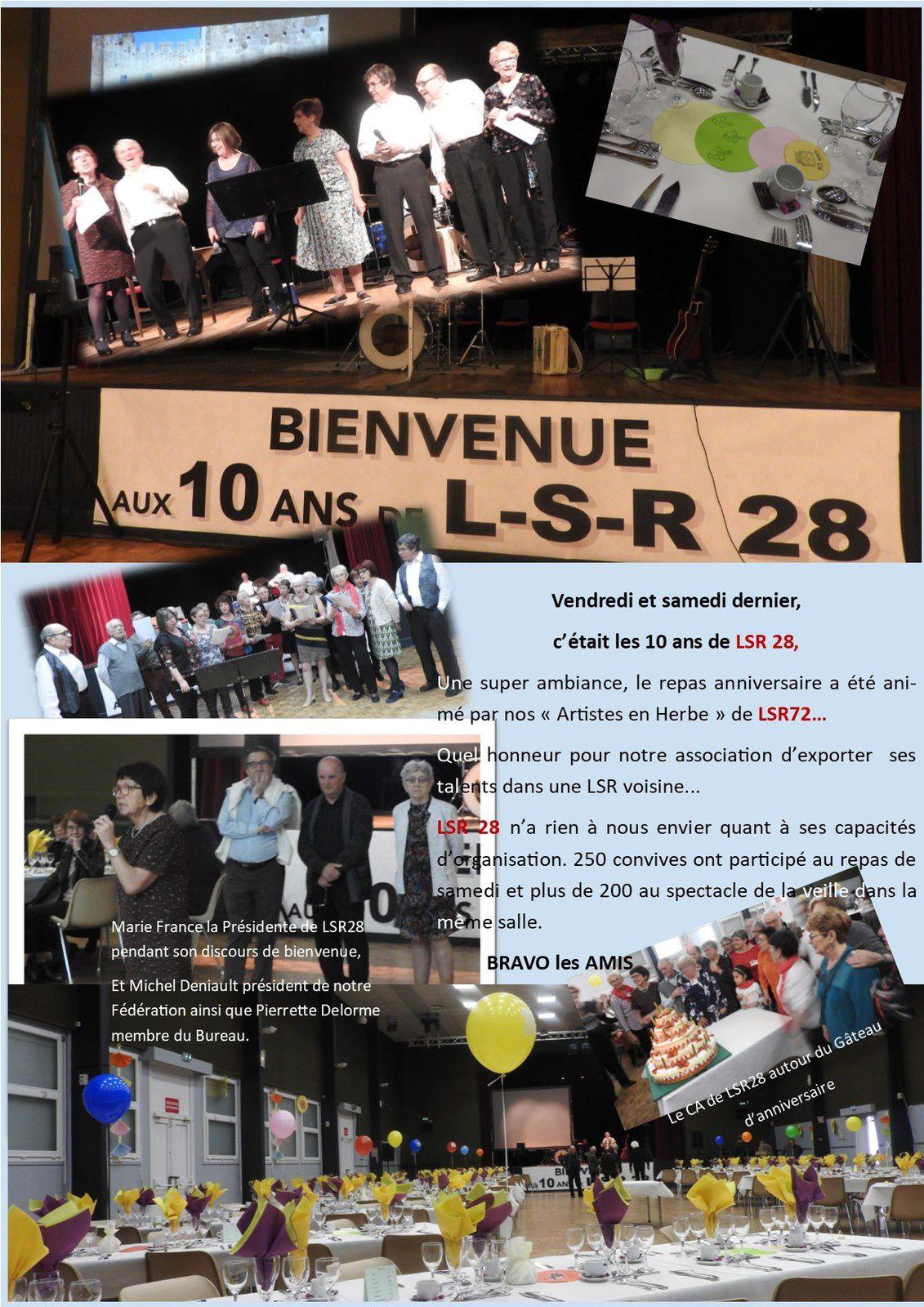 10 ans de LSR 28