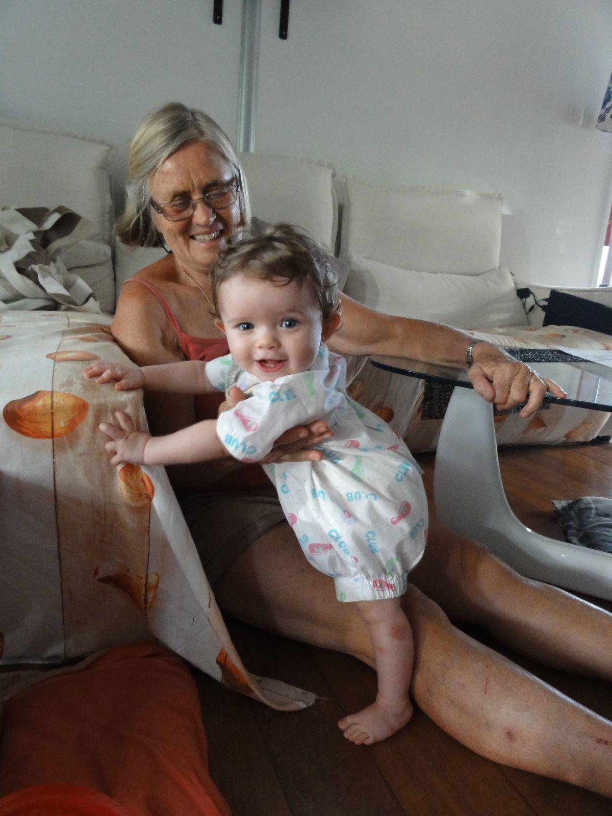 Madonie et sa Mamie Mimi