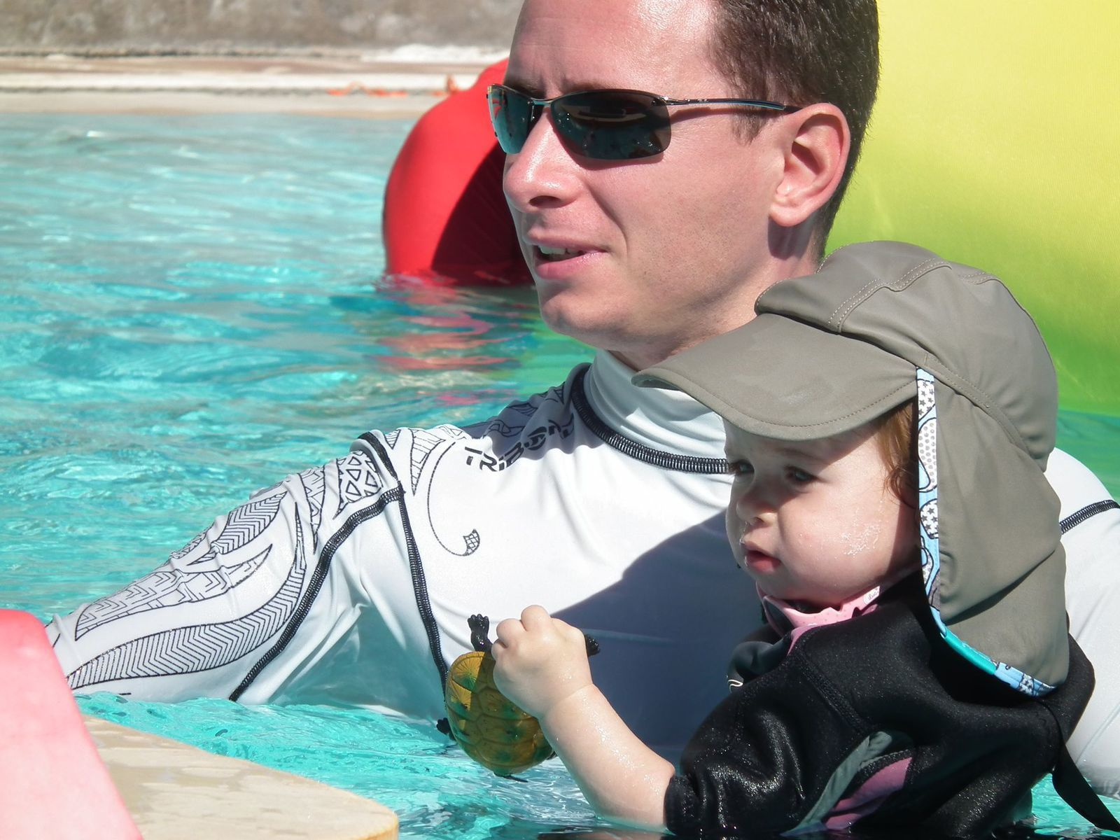 7è et dernier cours de bébé nageur de la saison