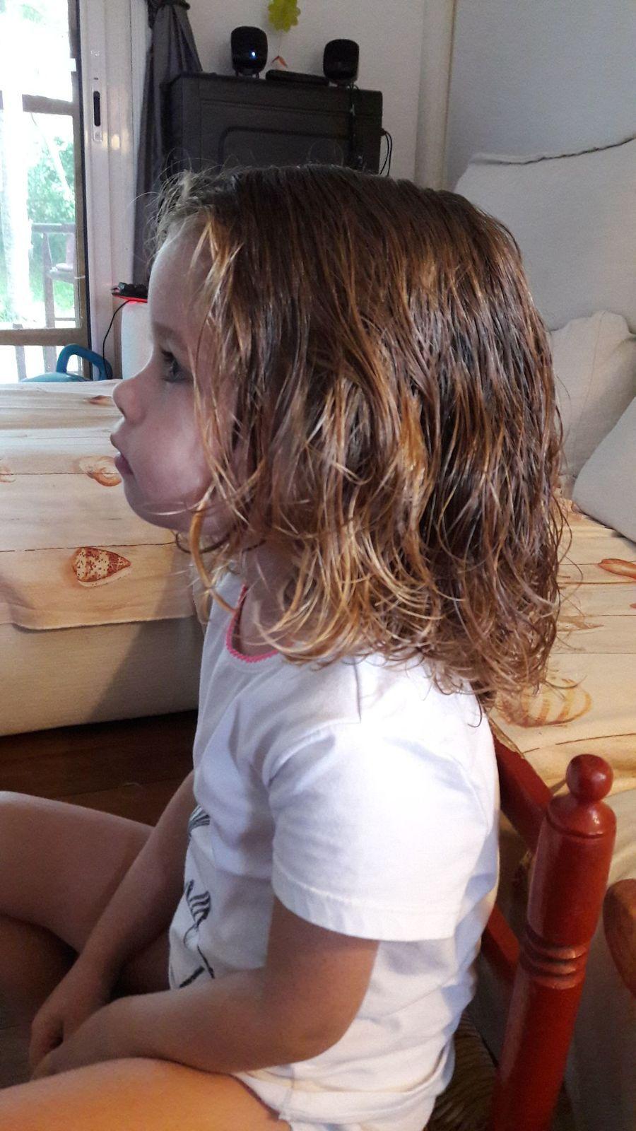 Les longs cheveux de Madonie puis sa coupe