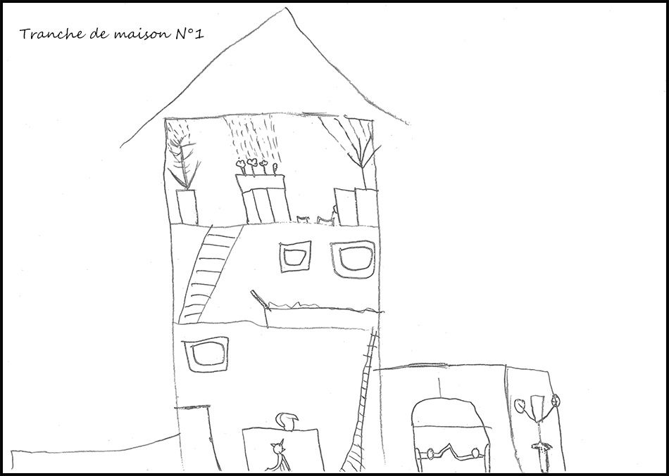 Dessin les maisons de luxe des enfants le blog de sev - Maison dessin enfant ...