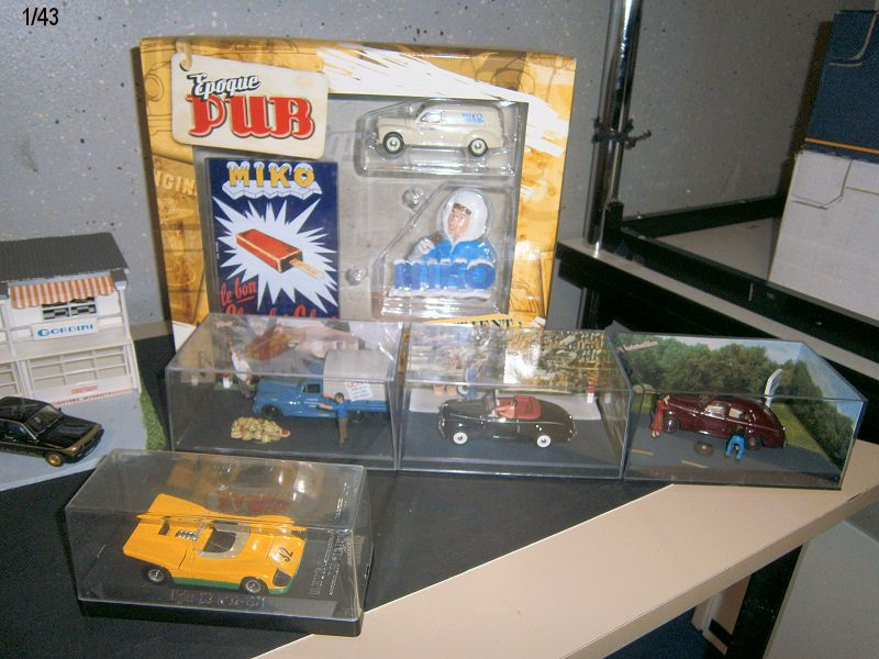 Les trouvailles de la bourse et  La 203 Peugeot.