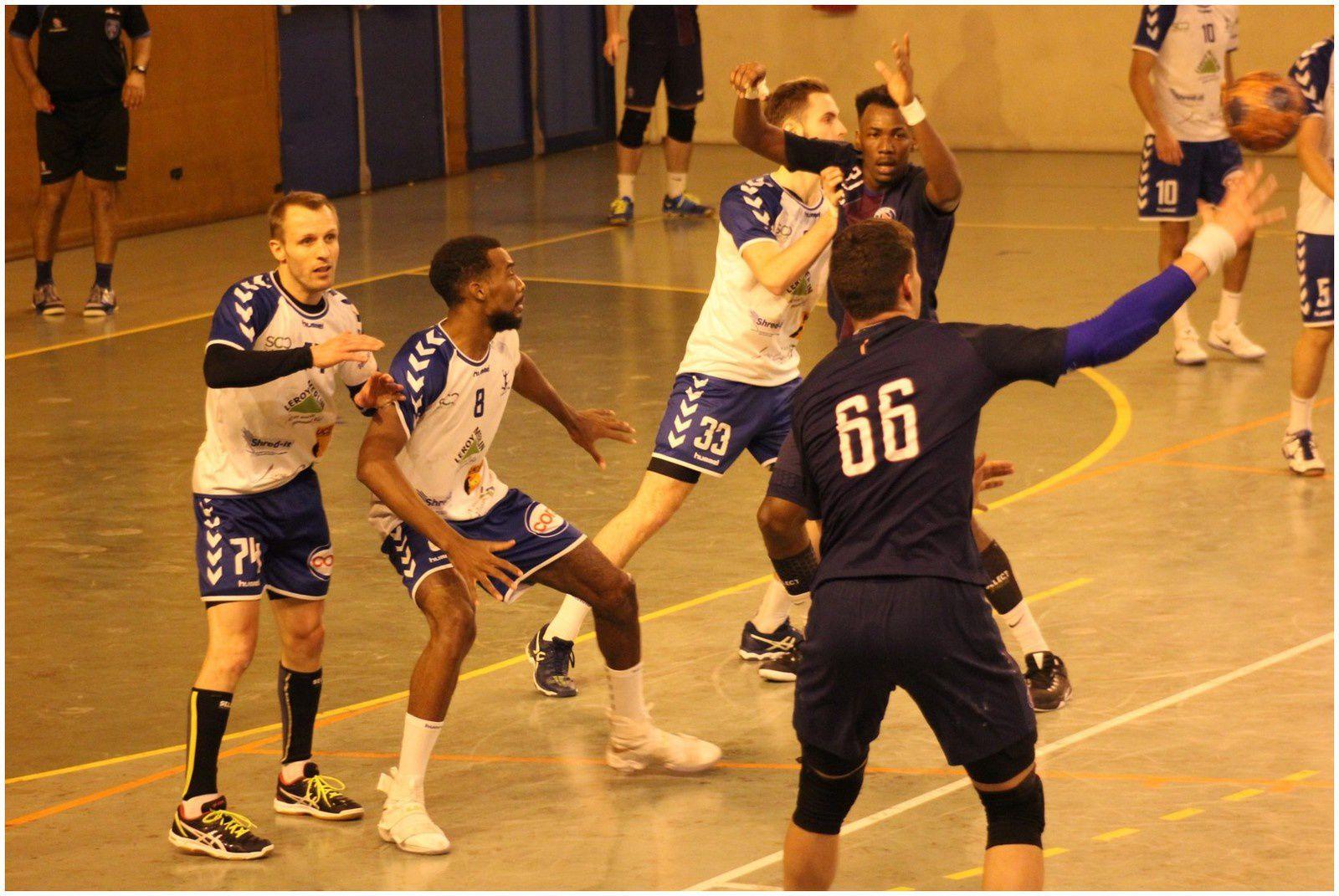 Livry-Gargan vs PSG Handball 2 (N2M - 12.11.2016) 2/2