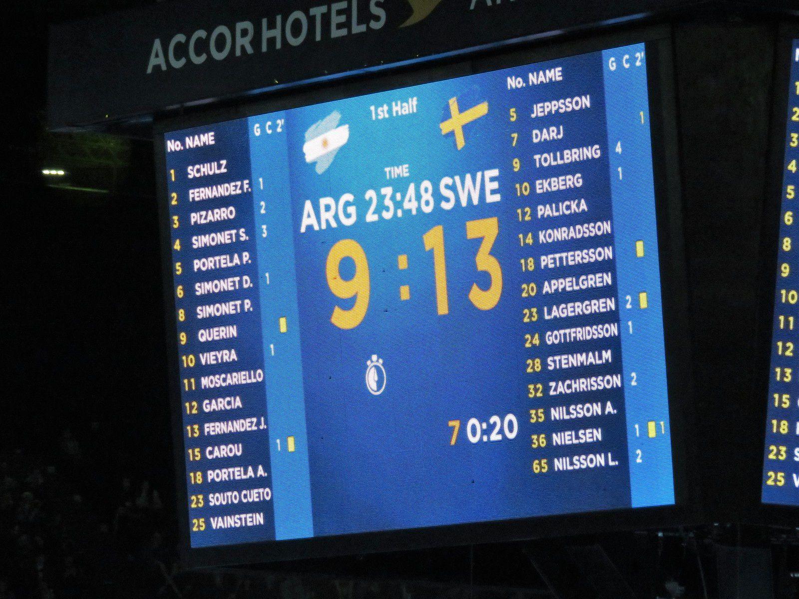 Suède vs Argentine (Championnat du Monde 2017) 15.01.2017