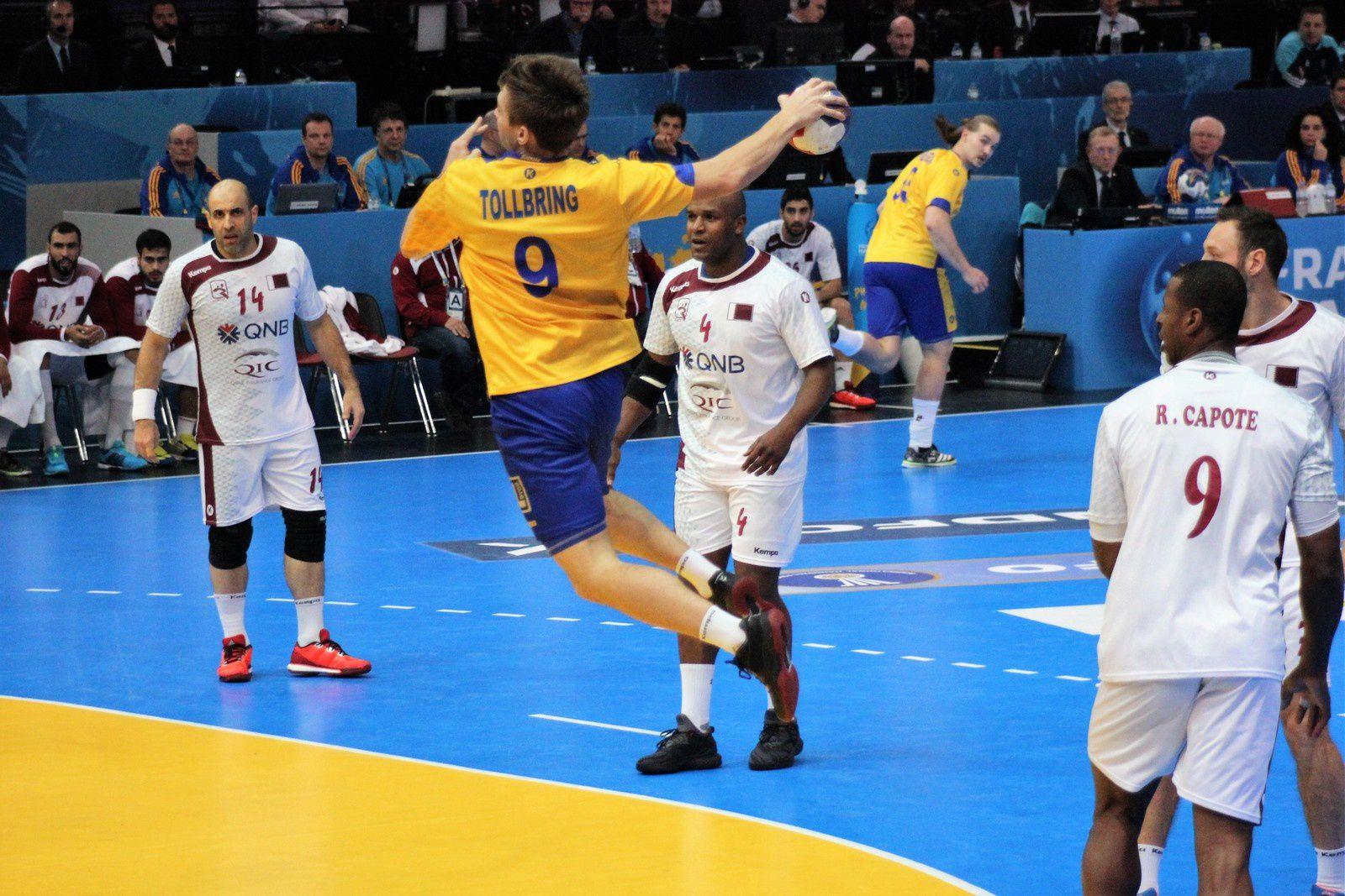 Suède vs Qatar (Championnat du Monde 2017) 18.01.2017