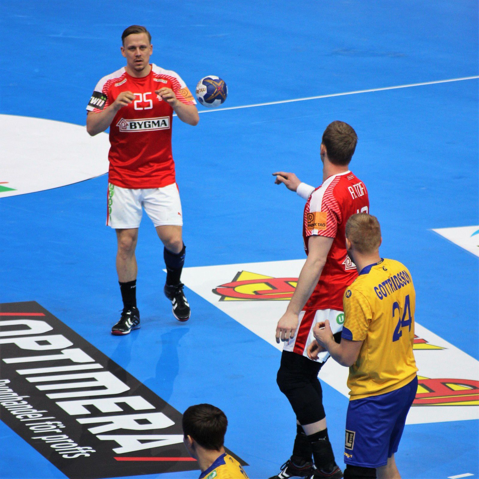 Suède vs Danemark (Championnat du Monde 2017) 16.01.2017