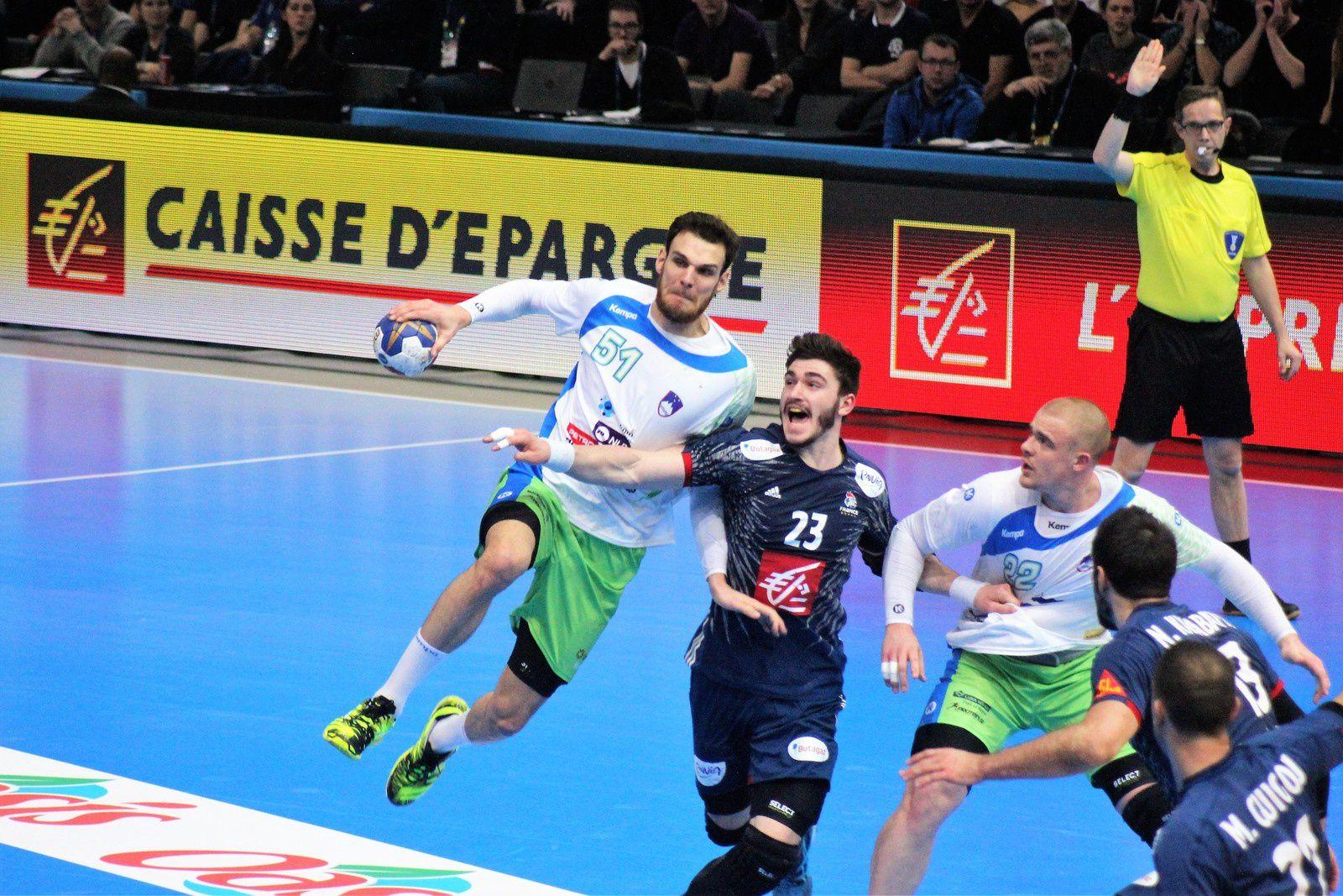 France vs Slovénie (1/2 Finale Championnat du Monde 2017) 26.01.2017 (1/2)