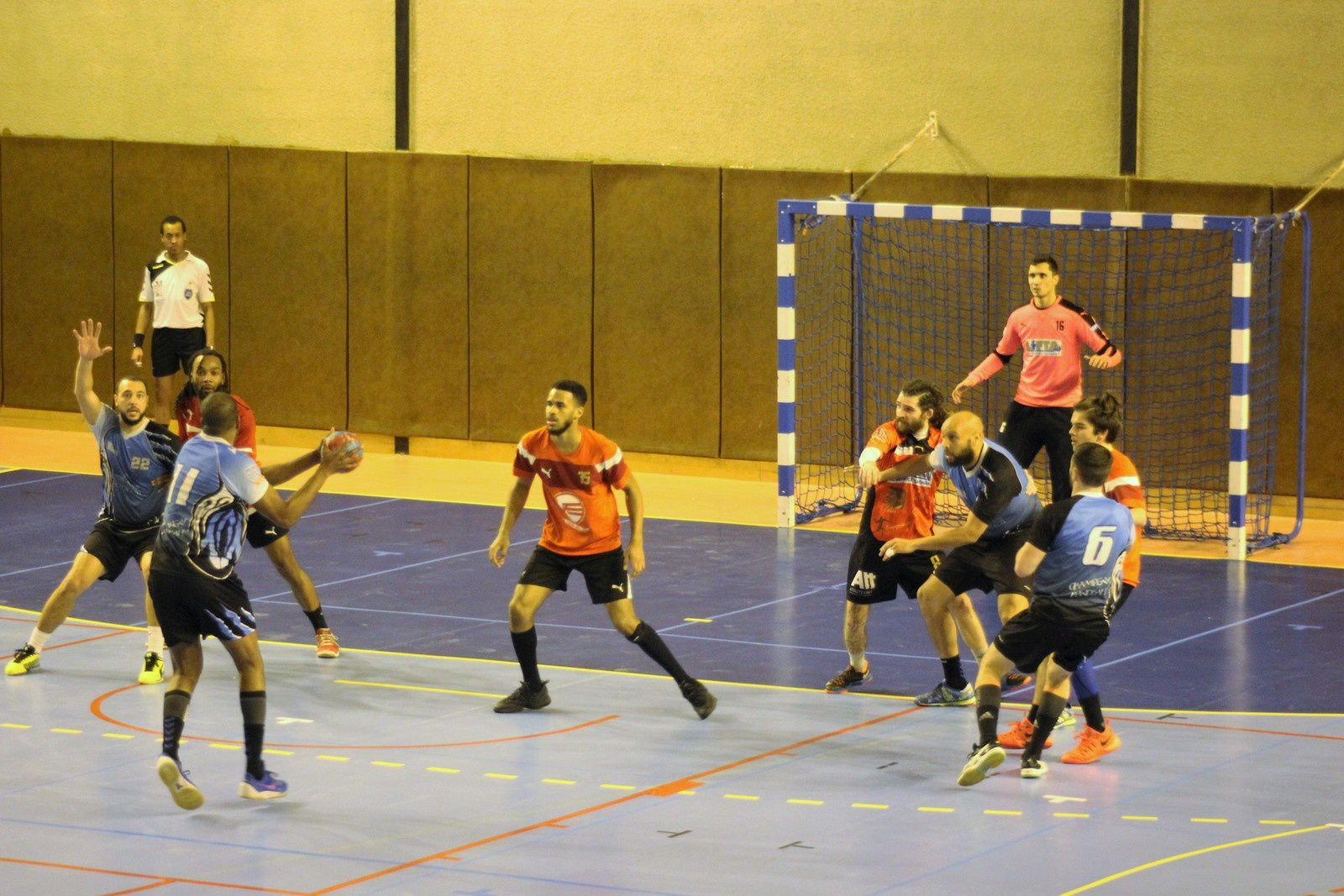 THBMLV 2 vs Champigny (Pré-Nationale) 25.02.2017