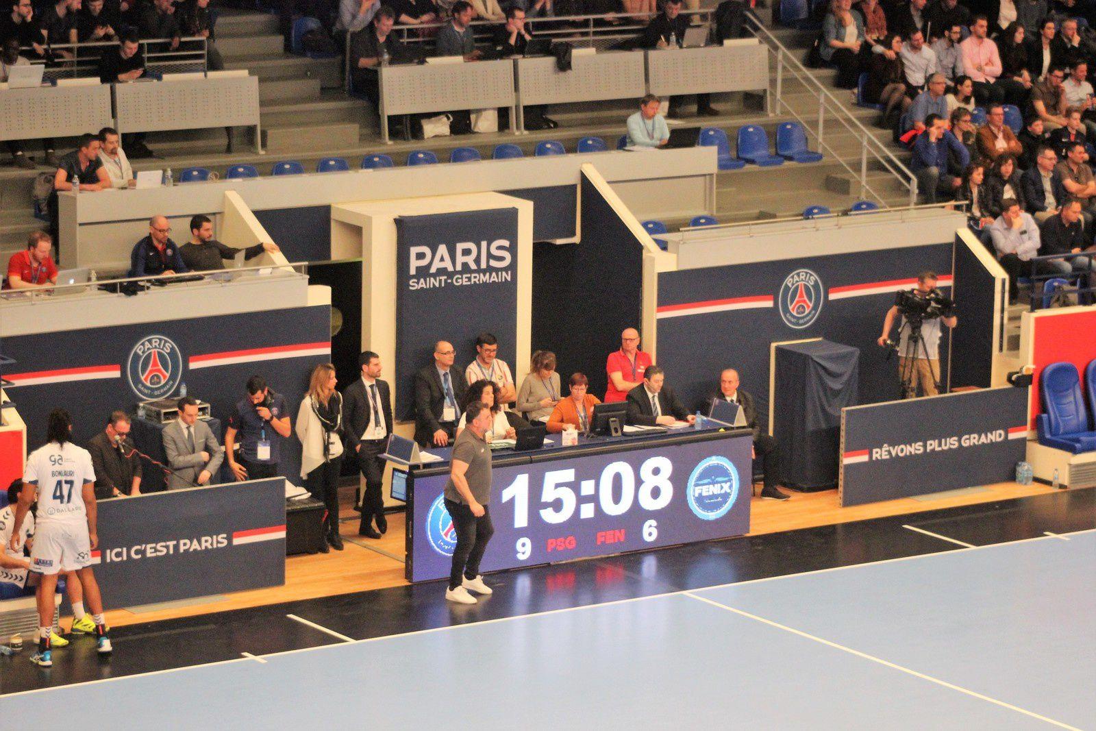PSG vs FENIX TOULOUSE (LSL LNH) 29.03.2017