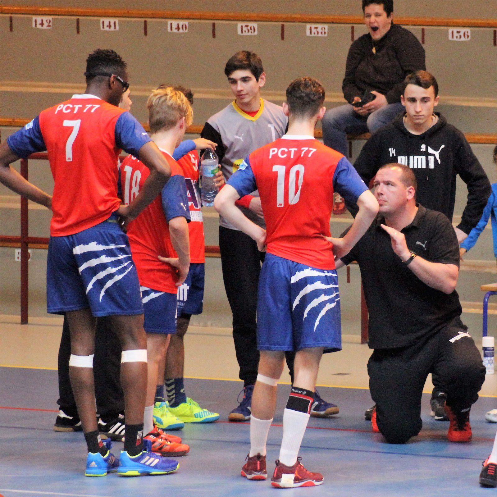 Sud 93 vs PCT 77 (Challenge de France -18 Ans) 01.04.2017