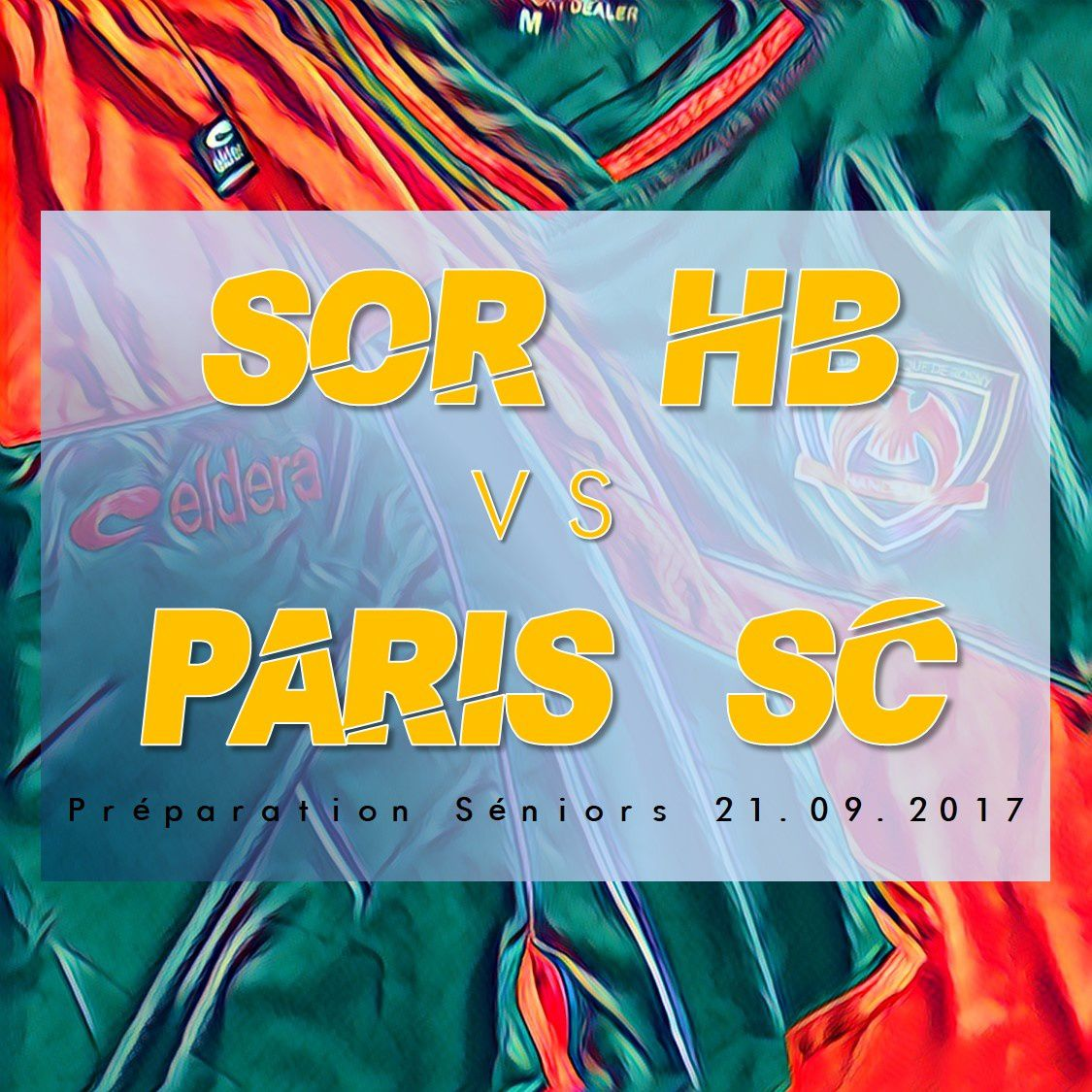 SOR HB vs PARIS SPORT CLUB (Prépa. Séniors 21.09.2017)