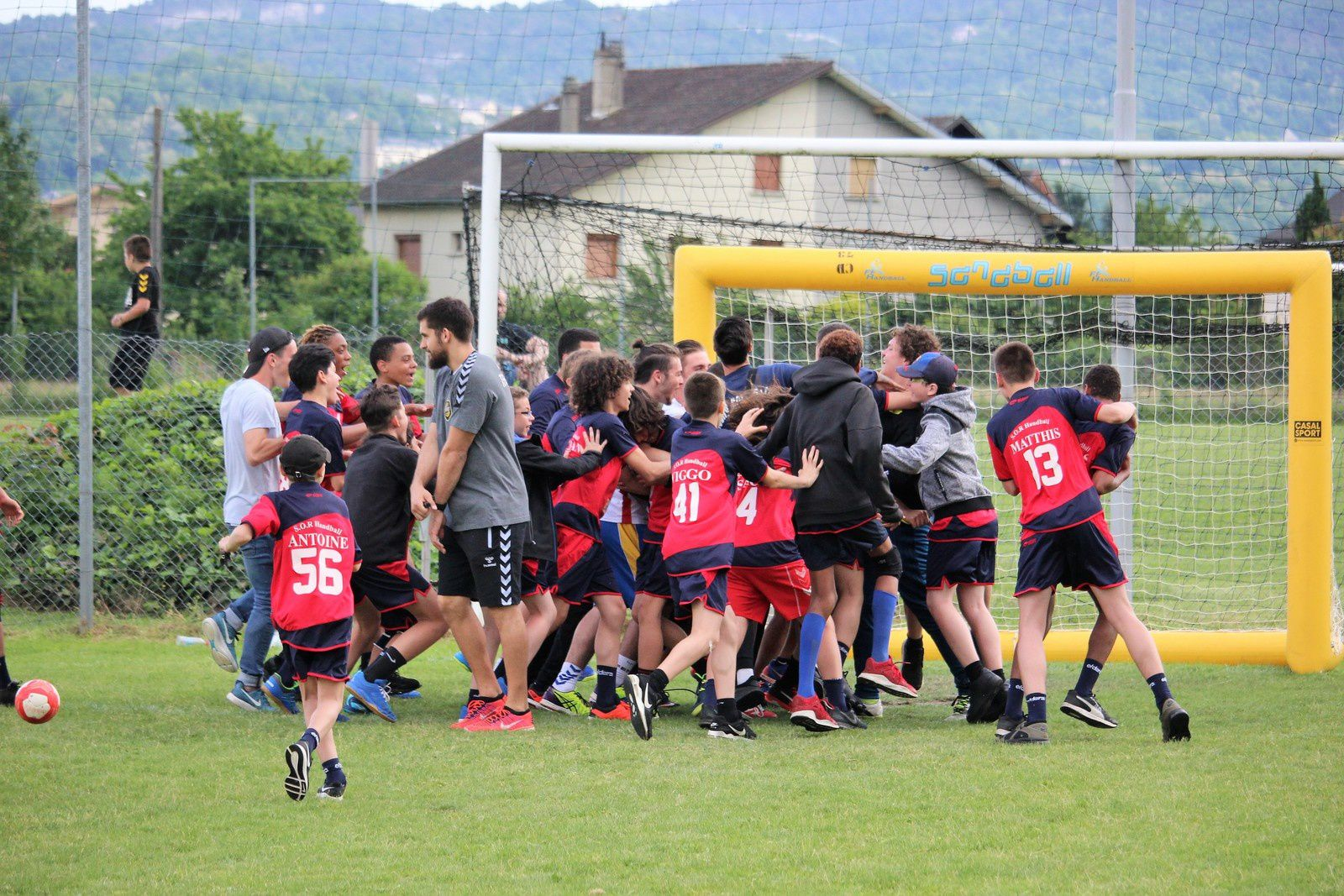 "Chambéry 2018 ""Jours 2 & 3"" (SOR HB U11/U13/U15 - 19 au 21.05.2018)"