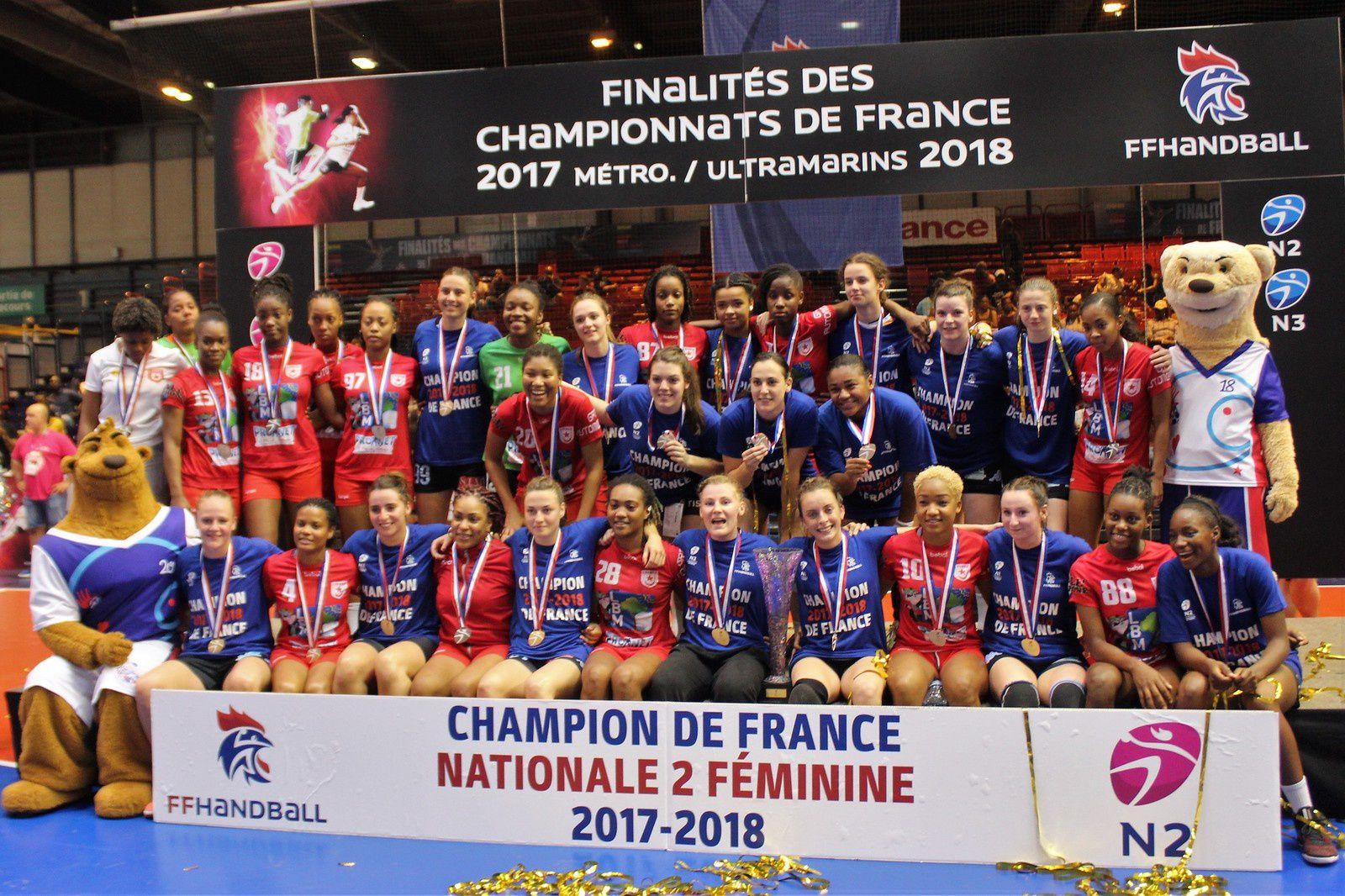 Finalités CdF N1/N2/N3 2018 (4 au 9 juin 2018)