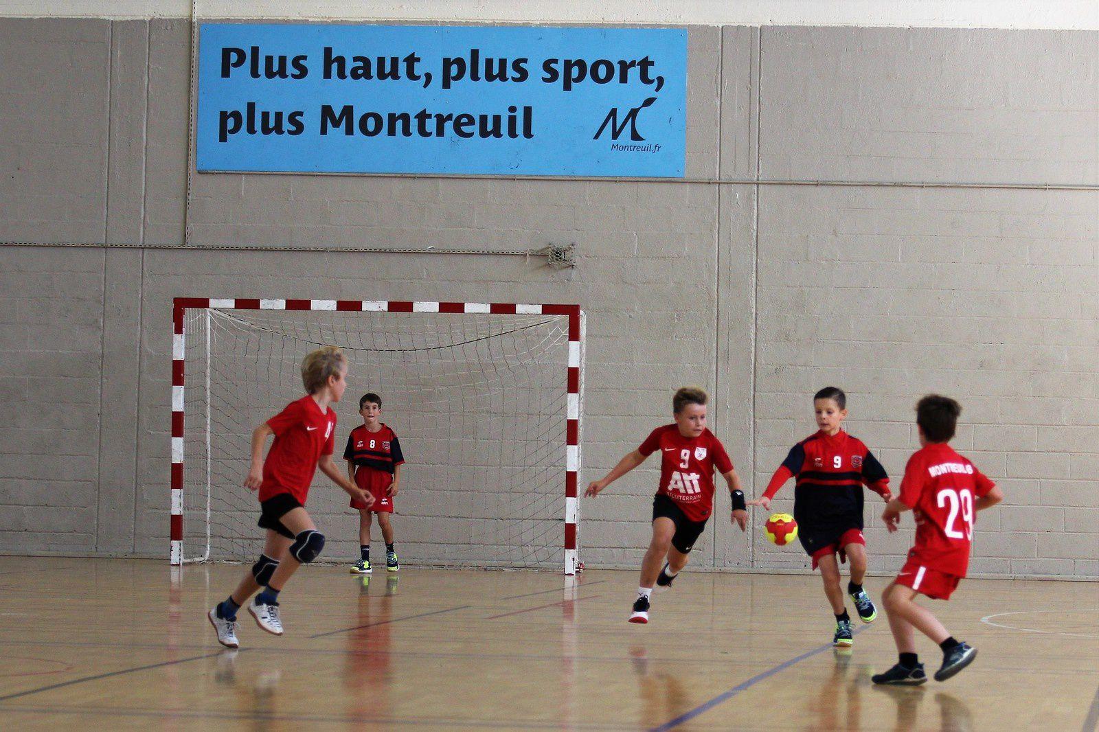 Montreuil vs SOR HB (J1 Brassage 93) Score : 35-11