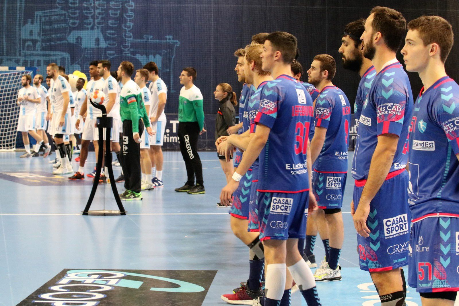 US Créteil vs Strasbourg (ProLigue 09.11.2018)