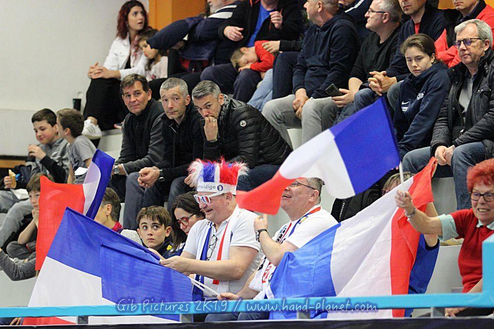 TIBY U21 SERRIS (11.04.2019) Serbie vs France