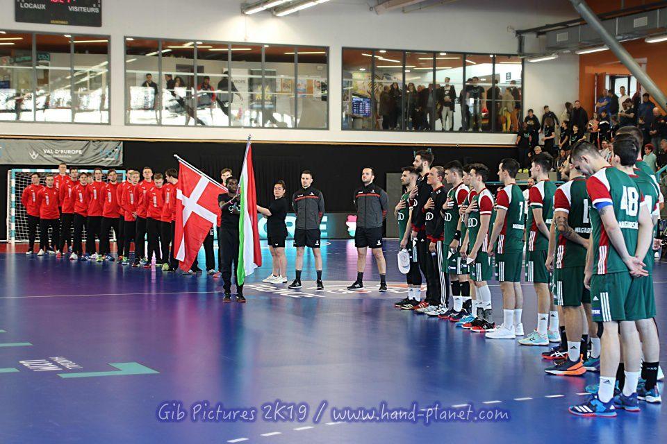 TIBY U21 SERRIS (11.04.2019) Hongrie vs Danemark