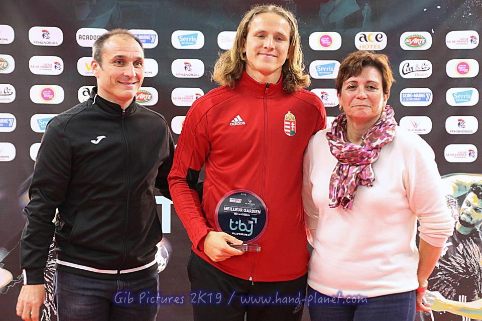 Classement Final : 1. France 2. Danemark 3. Hongrie 4. Serbie. Meilleur Gardien : K. Gyori (Hun) - Meilleur Buteur : Z. Schaffer (14buts - Hun) - Meilleur Joueur : Elohim Prandi (Fran).