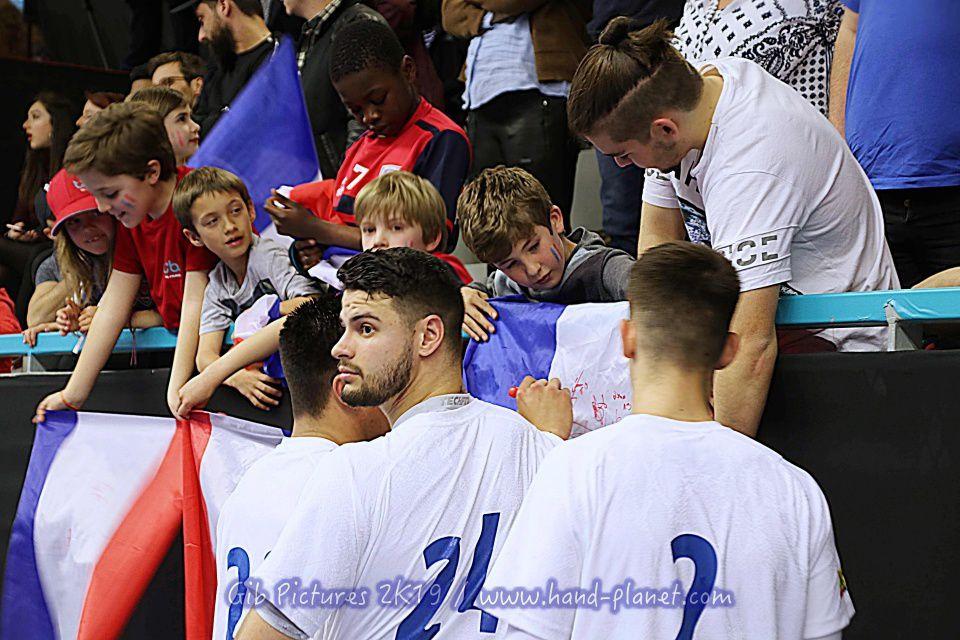 Tiby U21 Finale - France 35 : 29 Danemark