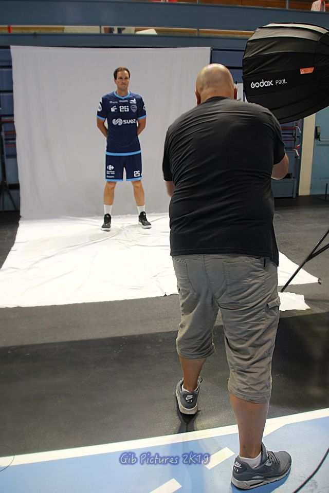 """Making-of"" photos officielles US Créteil 2019/2020 (07.08.2019)"