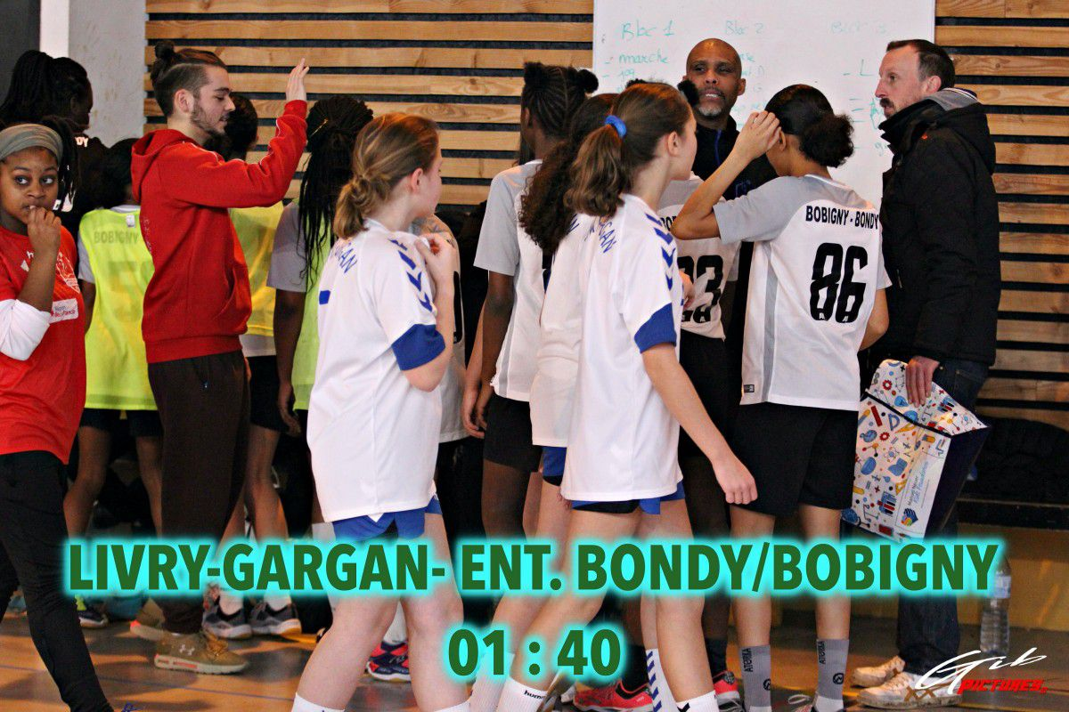 U15F (Excellence 93) | Livry-Gargan vs EBB (12.01.2020)