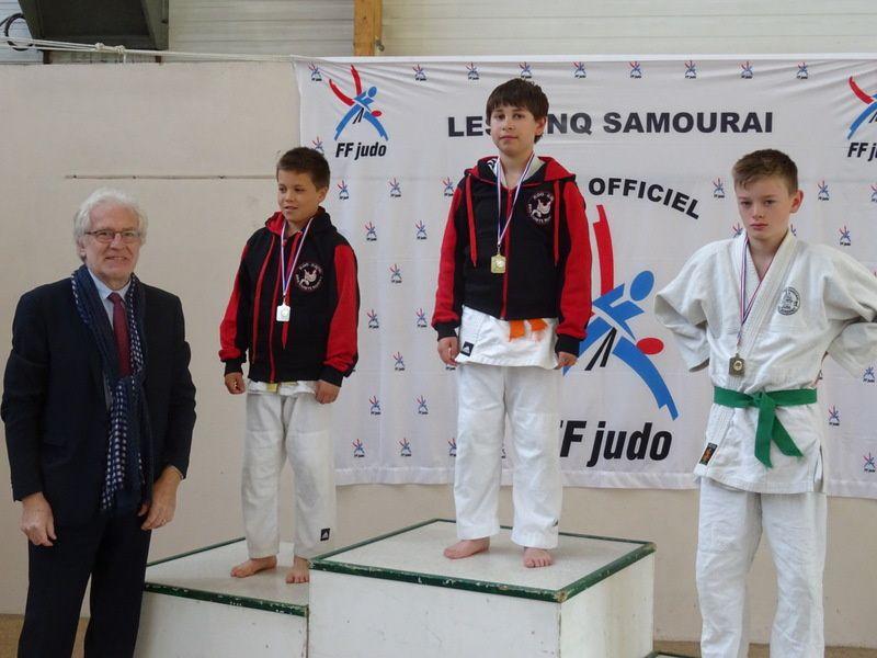les cinq samouraï, le tournoi !!!