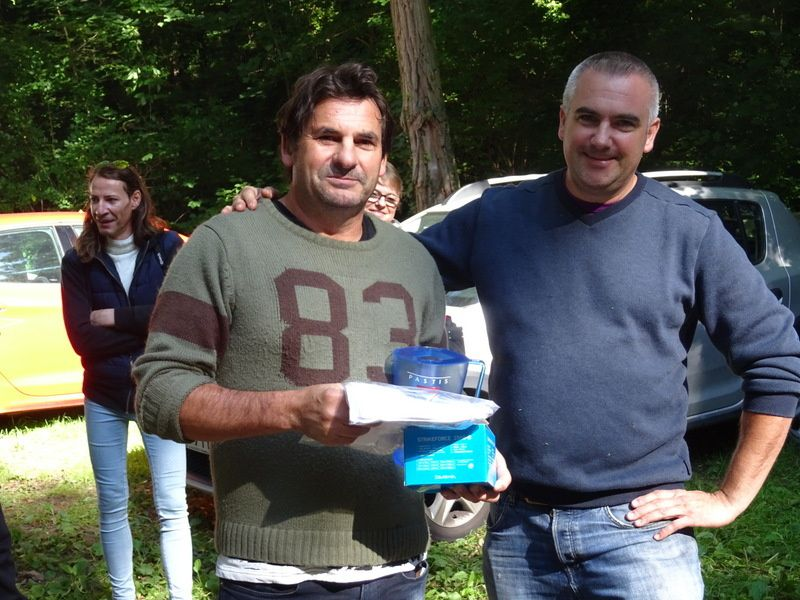 Partie de pêche à Périgny !!!