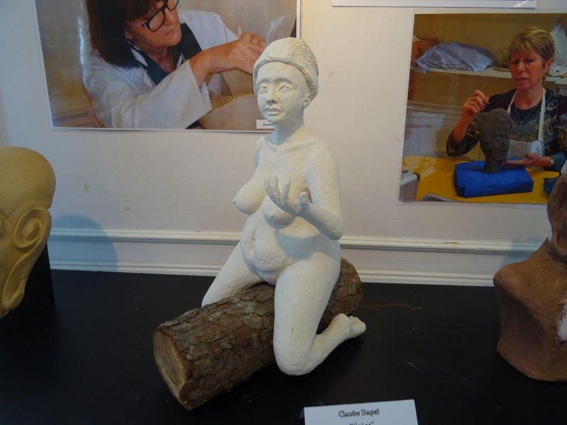 Les 10 ans de l'atelier modelage et sculpture !!!!