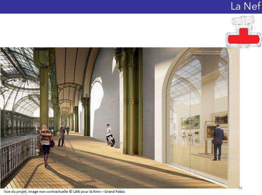 Les travaux du Grand Palais sont passés en CIPENAF !!!!