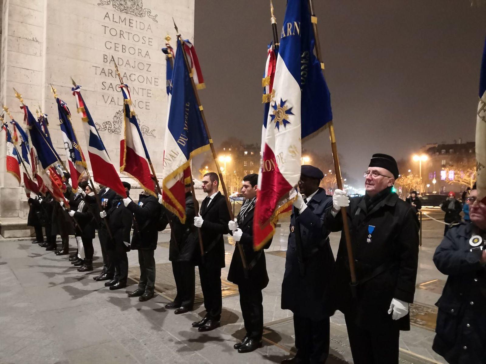 Le collège Blaise Cendrars de Boissy-Saint-Léger à l'Arc de Triomphe !!!