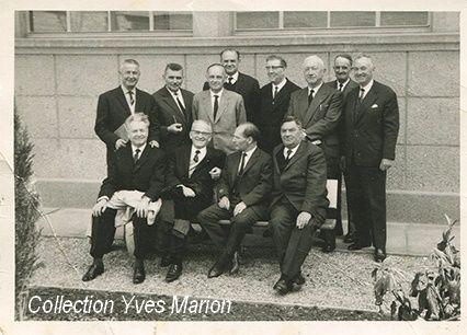 EN Saint-Lô. Octobre 1975 : Promo 1925, 50 ans après