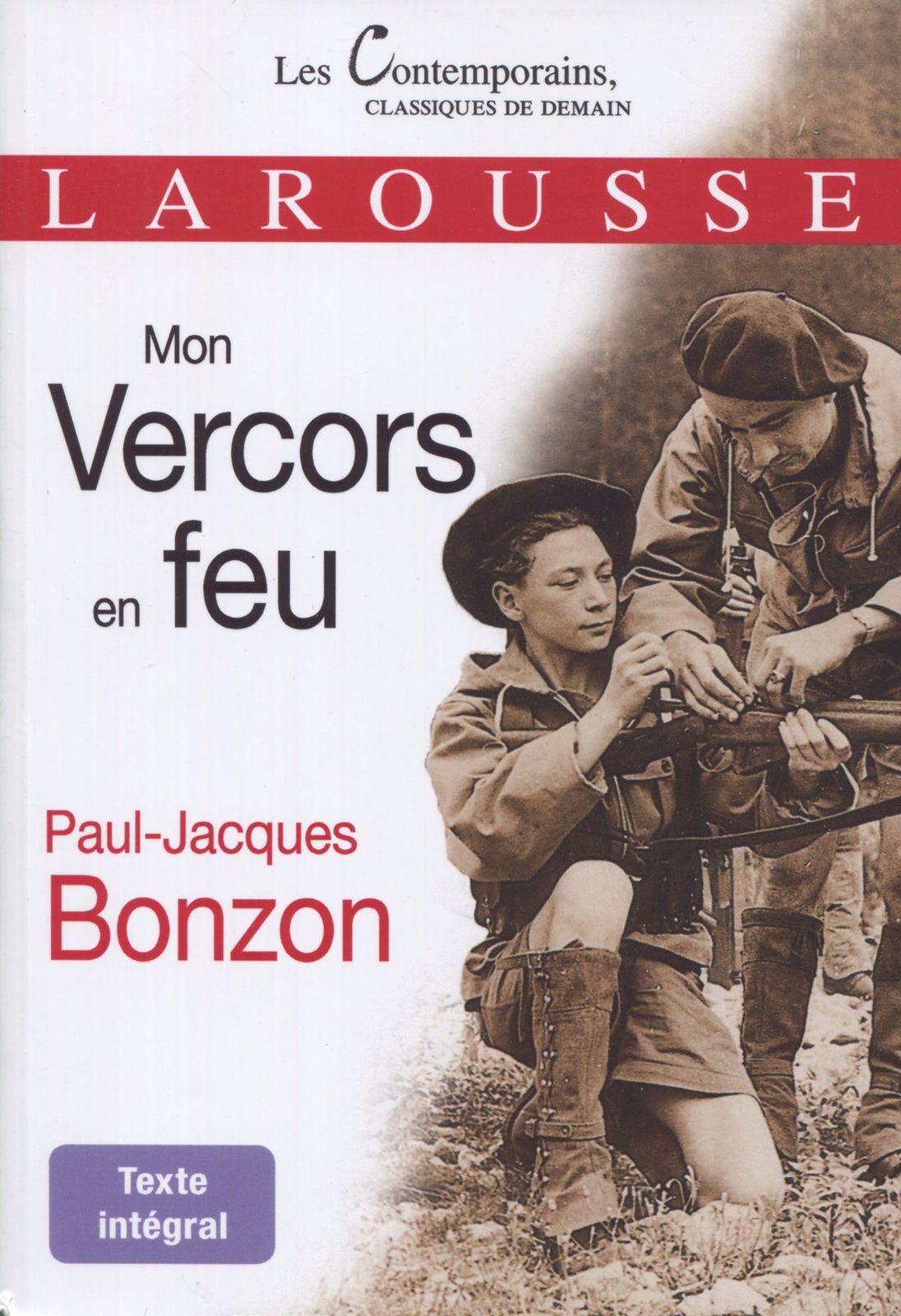 MON VERCORS EN FEU de Paul-Jacques Bonzon réédition 2019