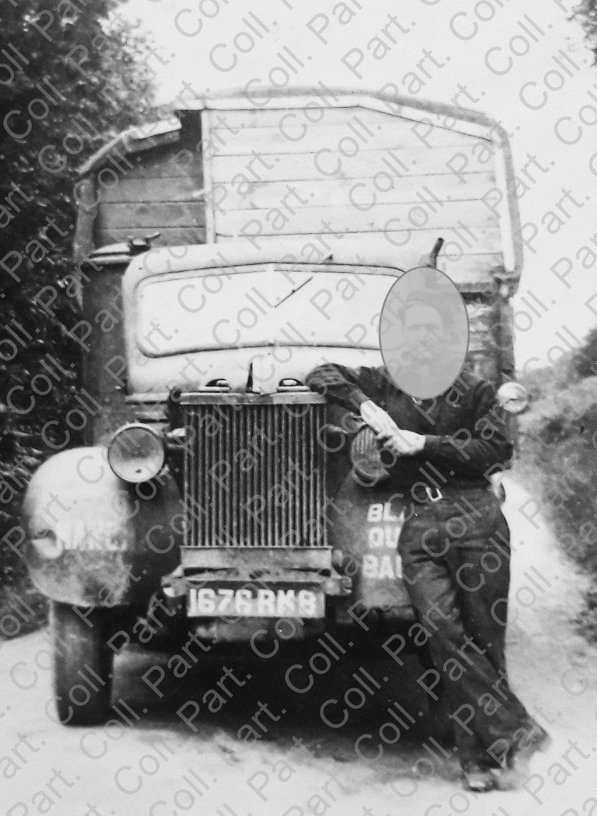 Camion gazogène Blanzy-Ouest (SICO,) Baupte, 1945