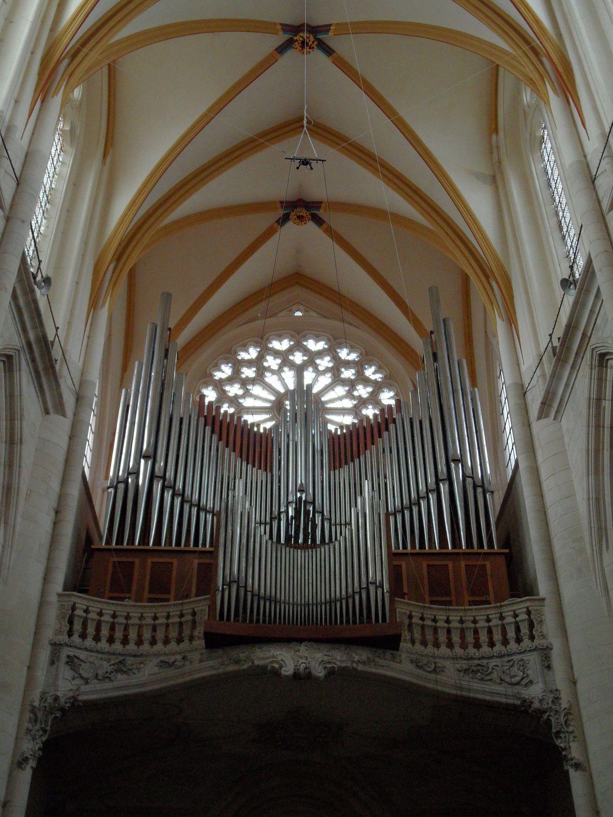 Façade du Grand-Orgue restauré (crédit photo : Stéphane Godet)
