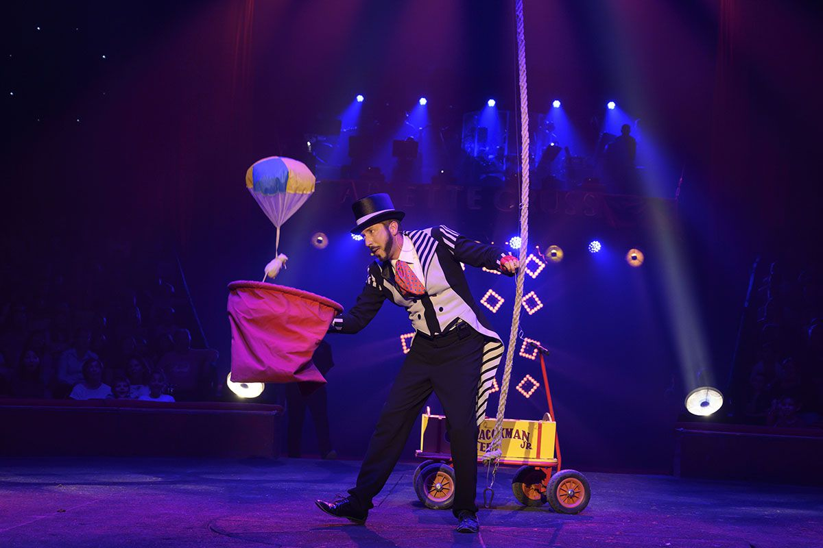 Photos du spectacle des 35 ans du Cirque Arlette Gruss (DR)