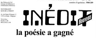 Dans l'Inédit nouveau n°272... Françoise Castera, Thierry Thirionet, et Christian Van Moer