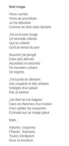 """Laurent Dumortier dans la revue """"LICHEN"""" avec son poème """"Nuit rouge"""""""