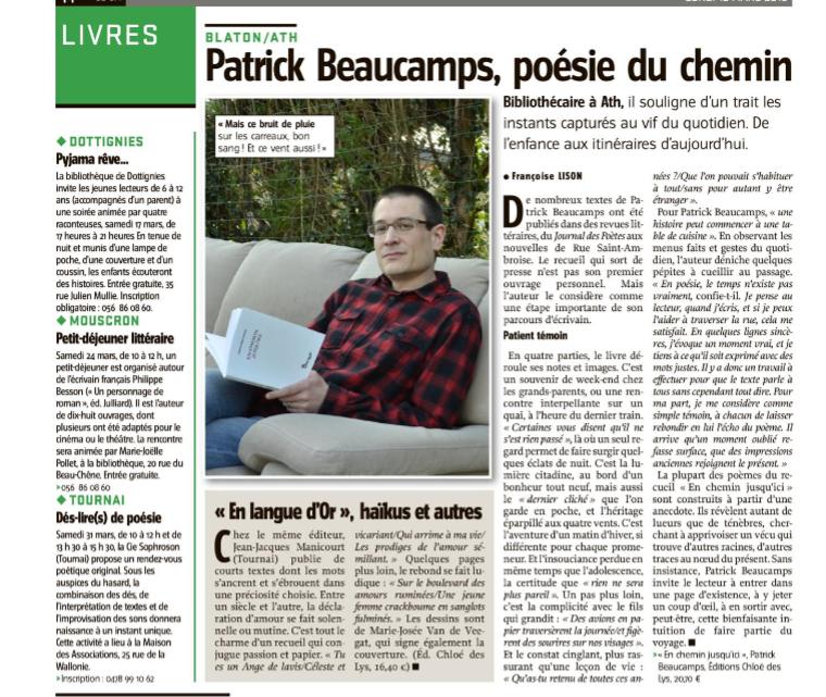 Patrick Beaucamps à l'honneur !