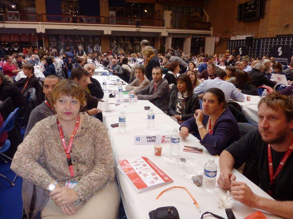 Une forte délégation de Haute-Loire au Congrès fédéral de la FNEC-FP FO à Gravelines