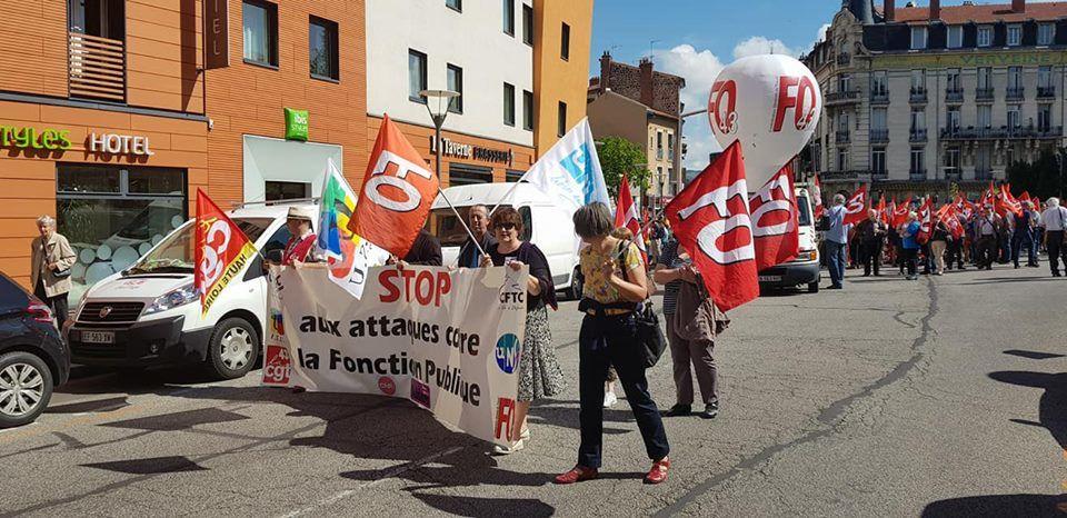 Près de 1000 manifestants au Puy le 22 Mai